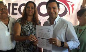 """Mis principales adversarios son la corrupción e inseguridad en Cancún: """"Chanito"""" Toledo"""