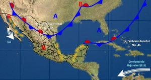 Se prevén lluvias intensas y granizadas en el centro y el sur de Veracruz, el norte y Chiapas