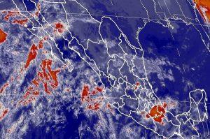 Para Coahuila, Nuevo León, Tamaulipas y San Luis Potosí, se pronostican lluvias muy fuertes