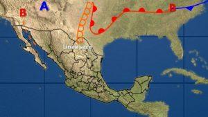 Predominará ambiente caluroso y seco con bajo potencial de lluvias en la mayor parte de México