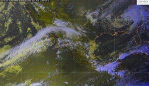 Se pronostican tormentas y posible granizo en zonas de Veracruz, Oaxaca y Chiapas