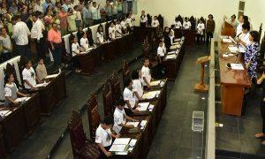 Realizan el 15º Congreso de Niñas y Niños de Tabasco