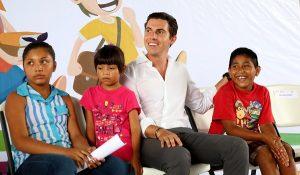 Ayuntamiento de BJ comprometido con el derecho de los niños a una vida sin violencia