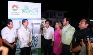 En marcha, Kóojay para iluminar Cancún