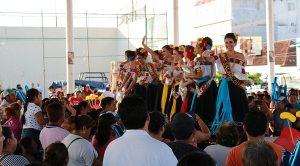 Reciben con fiesta a las embajadoras en Macuspana y Jonuta 2018