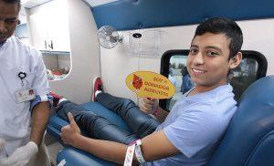 Fomentan en universitarios cultura de donación de sangre