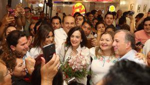 Calurosa bienvenida recibió Meade en Mérida, Yucatán