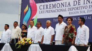 Se inaugura los juegos intertecnológicos en Tizmín