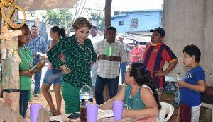 Programa integral de pavimentación y bacheo, ofrece Ady García