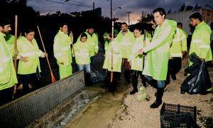 Supervisa Remberto Estrada labores de auxilio a la población por las lluvias