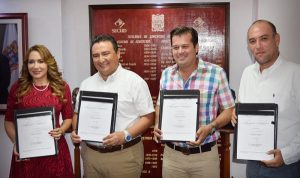Se integran primeros alumnos al modelo de formación dual en Campeche