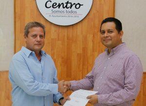 Asume Carlos Castellanos Morales la Coordinación de Desarrollo Político en Centro