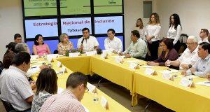 Presentan avances de Estrategia de Inclusión en Tabasco