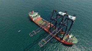 Reciben el primer buque en el Nuevo Puerto de Veracruz