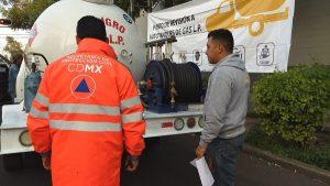 Revisan 93 autotanques y 7 camiones repartidores de gas L.P en CDMX