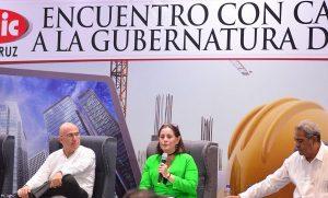 """Si soy gobernadora de Veracruz, se acabarán los """"moches"""": Candidata Nueva Alianza"""
