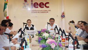 Partidos tienen 48 horas para sustituir candidatos en Campeche: IEEC