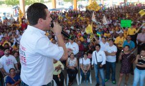En Cárdenas más seguridad y empleo en mi gobierno: Gerardo Gaudiano