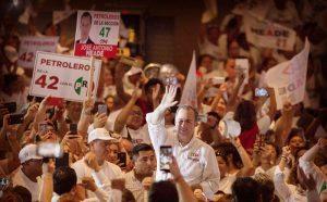 Cierran filas Ciudad del Carmen, Champoton y Campeche con Meade