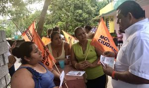 Se suman más ciudadanos del sexto distrito electoral a Guillermo Torres López