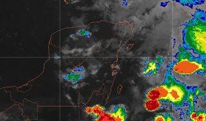 Zona de inestabilidad favorecerá fuertes lluvias este viernes en la Península de Yucatán