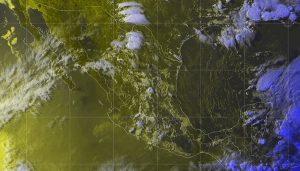 Existen condiciones para la formación de trombas frente a las costas de Yucatán y Quintana Roo