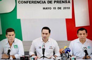 Exigen a Eliseo Fernández dar la cara por audio escándalo en Campeche