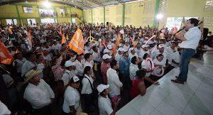 La elección es de personas no de partidos enfatizó Gerardo Gaudiano