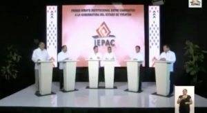 Nada para nadie en el debate de candidatos por Yucatán