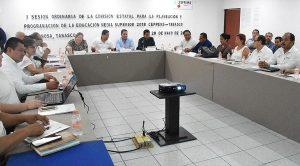 Fortalecen trabajo educativo en el nivel medio superior en Tabasco