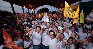 Con un Tabasco Unido recuperaremos la paz que la gente exige: Gerardo Gaudiano