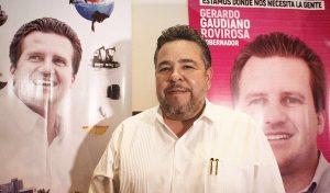 Gaudiano será un gestor permanente, empleo e hidrocarburos prioritarios para Tabasco: Héctor Dagdug