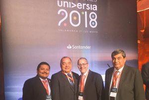 Participa UJAT en Encuentro Internacional de Rectores-Universia