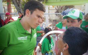 Gestionaremos servicios médicos de calidad sin costo en Campeche: Alvar Ortiz