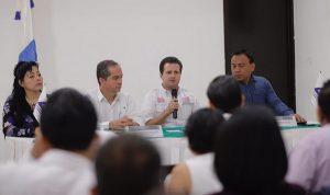 Apoyaremos la creación de empleo, habrá seguridad en mi gobierno afirma Gerardo Gaudiano