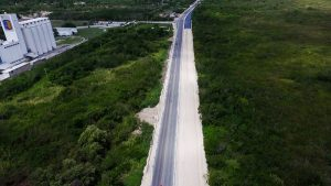 Mega obra carretera en Campeche lleva un avance entre el 60 y el 85 por ciento: Moreno Cárdenas
