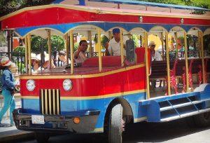 Confían que incremente afluencia en tranvías de la capital de Campeche