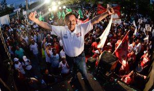 Espectacular cierre de campaña de Martín de la Cruz