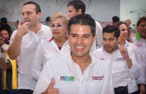 Mejorar servicios y pugnar por más empleos para Campeche: Claudio Cetina