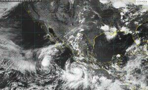 El huracán Bud ocasionará tormentas fuertes a intensas en Michoacán, Jalisco, Colima y Guerrero