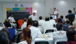 Prioridad empleo y seguridad afirma Gaudiano Rovirosa en la COPARMEX
