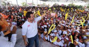 Políticos tradicionales se juntan contra los jóvenes que vamos por el cambio: Gaudiano Rovirosa