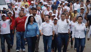Macuspana y todo Tabasco recuperarán la paz, también habrá empleo asegura Gaudiano Rovirosa