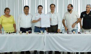 Reactivaré la economía de Cárdenas y habrá más seguridad: Gaudiano Rovirosa