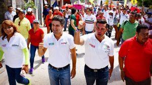 Refrenda Christian Castro Bello su compromiso de trabajar por los campechanos