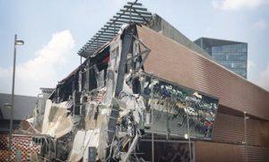 Se derrumba centro comercial en CDMX, no hay heridos