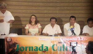 Anuncian 25 y 26 de julio, jornada cultural maya en Campeche