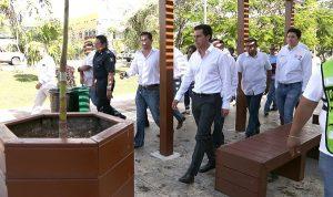 Segunda etapa de limpieza integral en supermanzana 5 mejora imagen urbana de zona fundacional