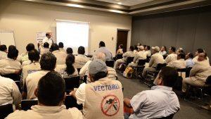 Capacita Salud a personal para prevenir dengue y zika en Tabasco