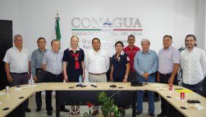 Personal de CONAGUA en Yucatán entregó donativo a la Cruz Roja